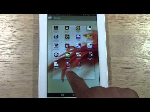 Galaxy Tab 2 7.0 - How to Uninstall (Remove) an App​​​ | H2TechVideos​​​