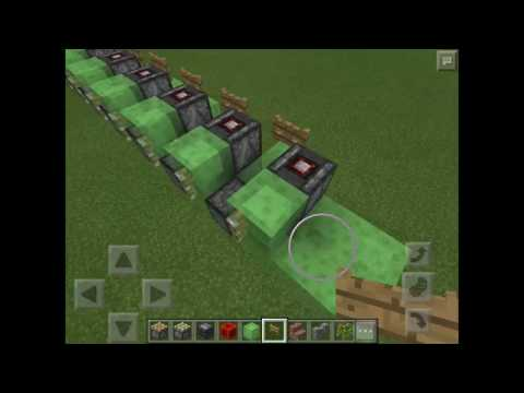 How to make a train in minecraft pe
