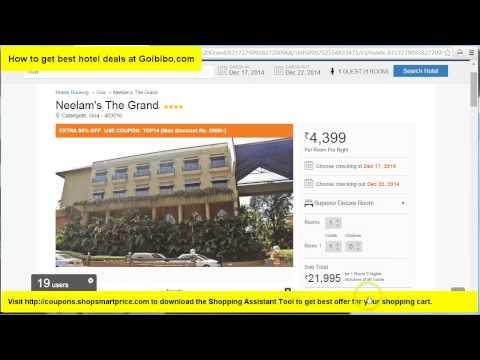 How to Get Best Hotel Deals @ Goibibo