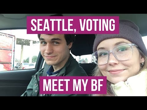 Voting in Russian Election + Meet my BF!
