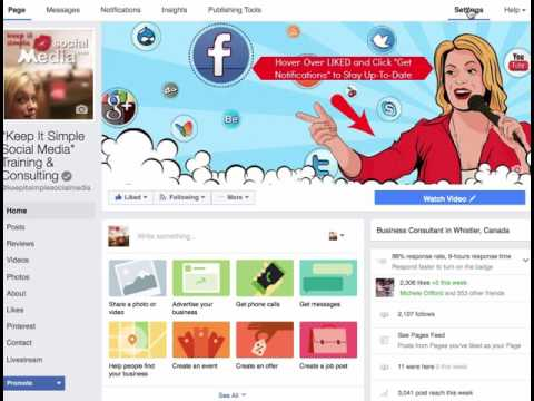 How to Remove and Add Tabs on Your Facebook Business Page