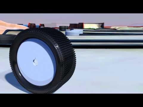 Barmah Off Road RC Car Track 3D Model C4D