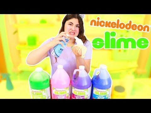IS IT POSSIBLE? ELMERS GLUE SLIMES WITH NICKELODEON GLUE ~ Slimeatory #379