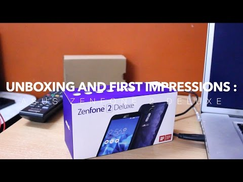 Asus Zenfone 2 Deluxe Unboxing and First Impressions!
