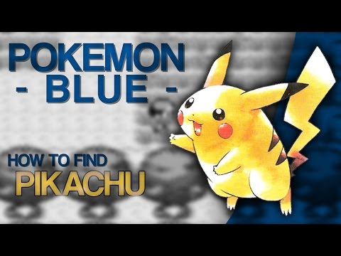 How To Find: Pikachu [Pokemon Blue]