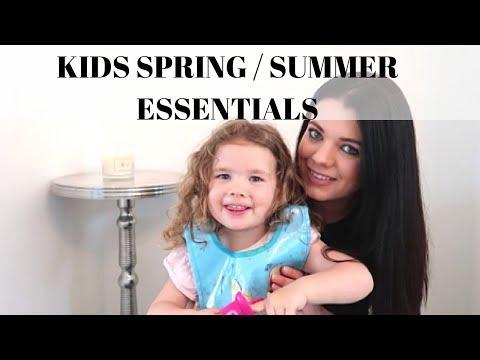 KIDS SPRING / SUMMER ESSENTIALS
