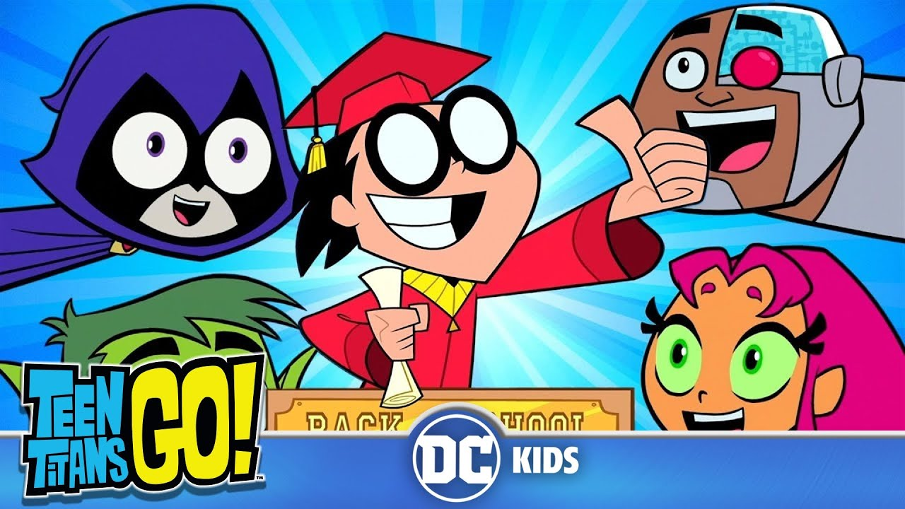 Teen Titans Go! auf Deutsch | Zurück in die Schule! | DC Kids