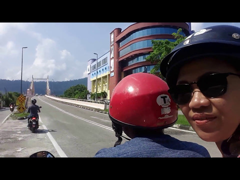 Driving around Langkawi from Kuah Town to Oriental Village + Cable Car