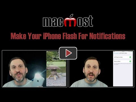 Make Your iPhone Flash For Notifications (#1668)