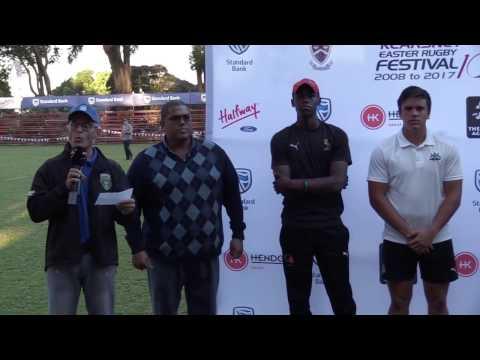 Kearsney Fest: Awarding of Sharks Rugby Academy Bursaries