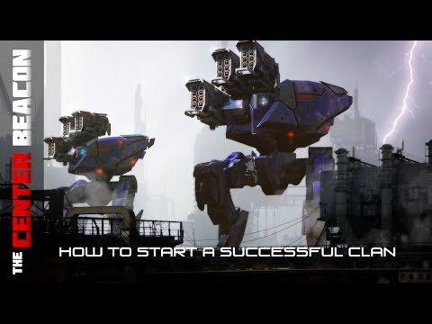 War Robots | How to Start a Successful Clan