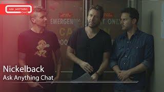 Nickelback Talk About Frank Ocean, Lenny Kravitz & Elton John.  Watch Part 2
