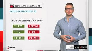 Option Premium | Options Trading Concepts