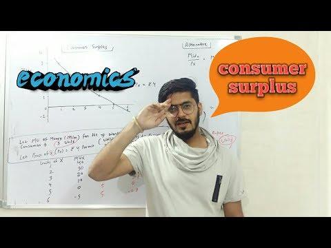 #5 consumer surplus  law of equi marginal utility  utility analysis  economics