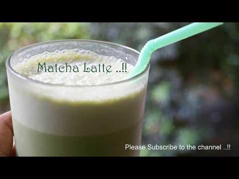 Healthy Iced Matcha latte | Summer Drinks | Subbu Cooks