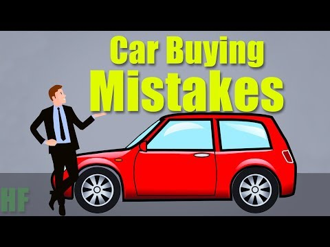 Car Buying Mistakes to Avoid at the Dealership