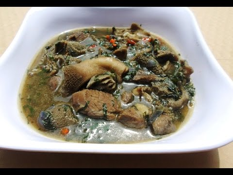 Pepper soup Video -  How to make Peppersoup