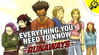 Marvel's Runaways - Everything You Need to Know! (The Dan Cave w/ Dan Casey)