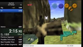Ocarina Of Time: Jump Off The Watchtower And Die In 4:00
