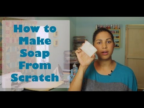 How to Make Soap from Scratch- Room Temp/Oven Processed