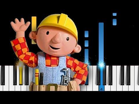 BOB THE BUILDER - Piano Tutorial
