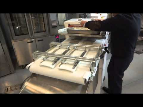 POCO & Simplex 4 24 BL2 Moulder Bakery Demonstration
