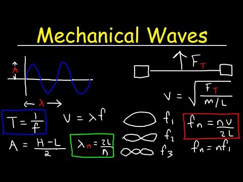 Mechanical Waves Physics Practice Problems - Basic Introduction
