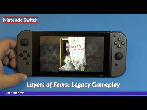 Nintendo Switch Layers Of Fear: Legacy Gameplay