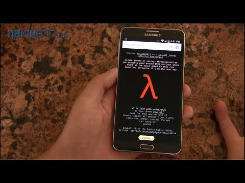 How to Root the AT&T and Verizon Samsung Galaxy S5