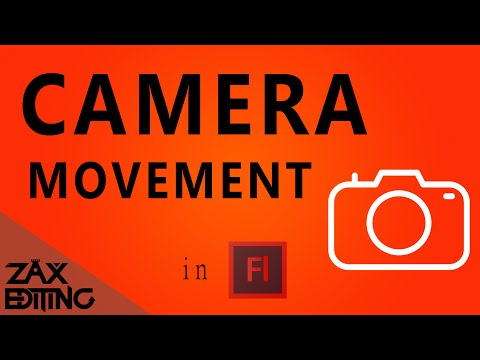 How to Make Camera Movement in Flash! | Adobe Flash Tutorial