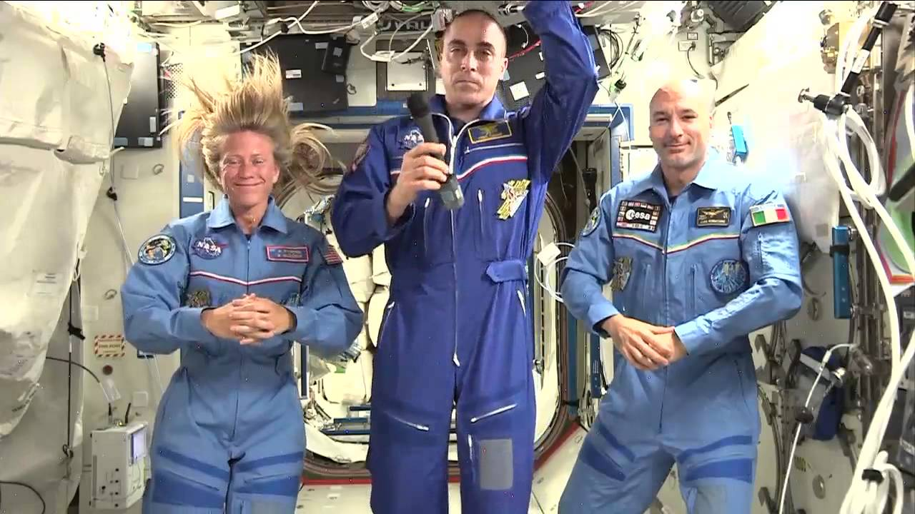 Space Station Astronauts Connect with Massachusetts Students