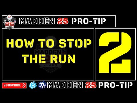 Madden 25 Pro-Tip #2: How To Stop The Run