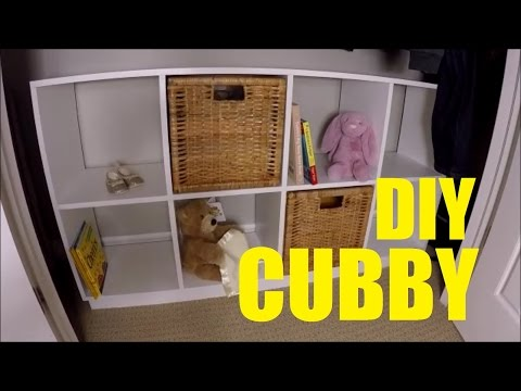 How To Make A 8 Cube Cubby