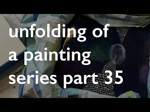 Unfolding of painting Series part 35