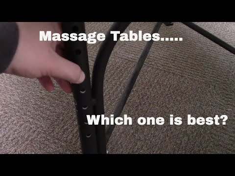 How to Choose the Right Massage Table