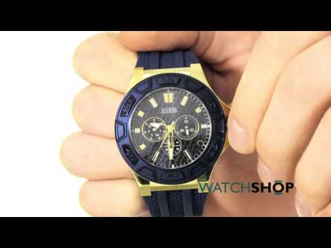 Guess Men's Force Chronograph Watch (W0674G2)