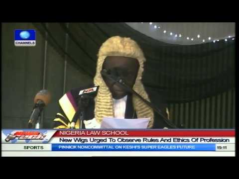 Nigerian Law School: New Wigs Urged To Observe Rules and Ethics of Profession