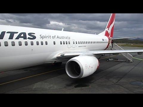 Qantas Business Class Gold Coast to Sydney B737 800