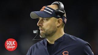 Bears head coach Matt Nagy on supporting players, preparing for 2020 NFL season   Golic and Wingo