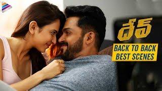 Dev Latest Telugu Movie 2019   Back To Back Best Scenes   Karthi   Rakul Preet   Telugu FilmNagar