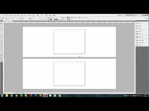 Setting up a Trifold Brochure in Adobe InDesign (CS5)