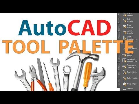AutoCAD TOOL PALETTE | CUSTOMIZING AUTOCAD TOOL PALETTE