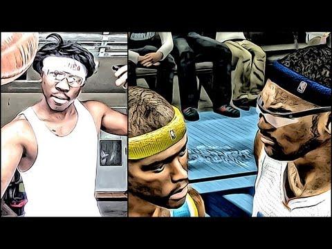 NBA 2k13 MyCAREER - Marcus Jordan vs Chris Smoove Pt 2 - QJB New Character Coming Soon