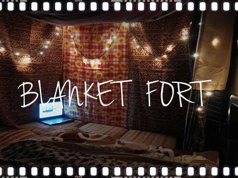 Blanket fort | Sleepover | Me time