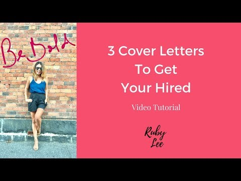 WRITE THE COVER LETTER TO GET YOU HIRED (with examples) | THE CAREERS EMPORIUM