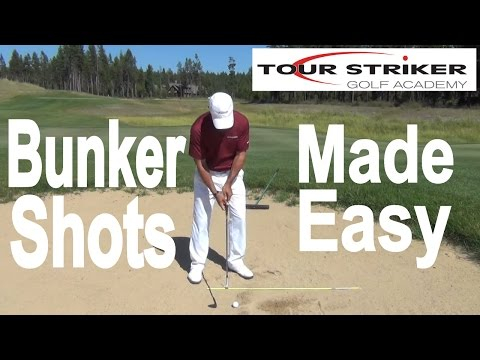 Martin Chuck | Bunker Shots Made Easy | Tour Striker Golf Academy