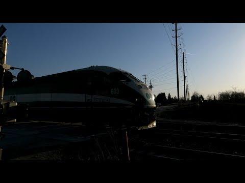 GO Train Drive By | Richmond Hill Layover Go Station