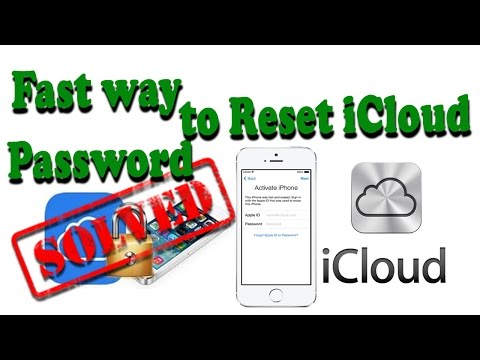Fast Way How To Reset iCloud Password Solve Forgot iCloud Password || Dam Khunpisey Khmer