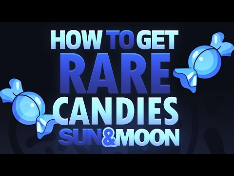 How To Get RARE CANDIES In Pokemon Sun and Moon!