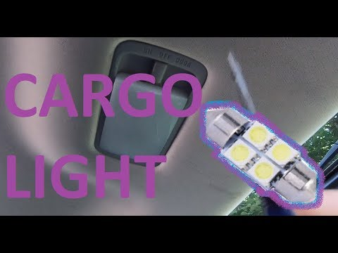 How to Replace cargo Trunk light bulb on 13-20 Nissan Pathfinder